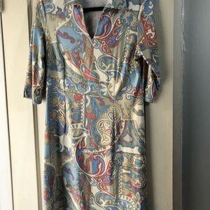 J. McLaughlin collared dress M